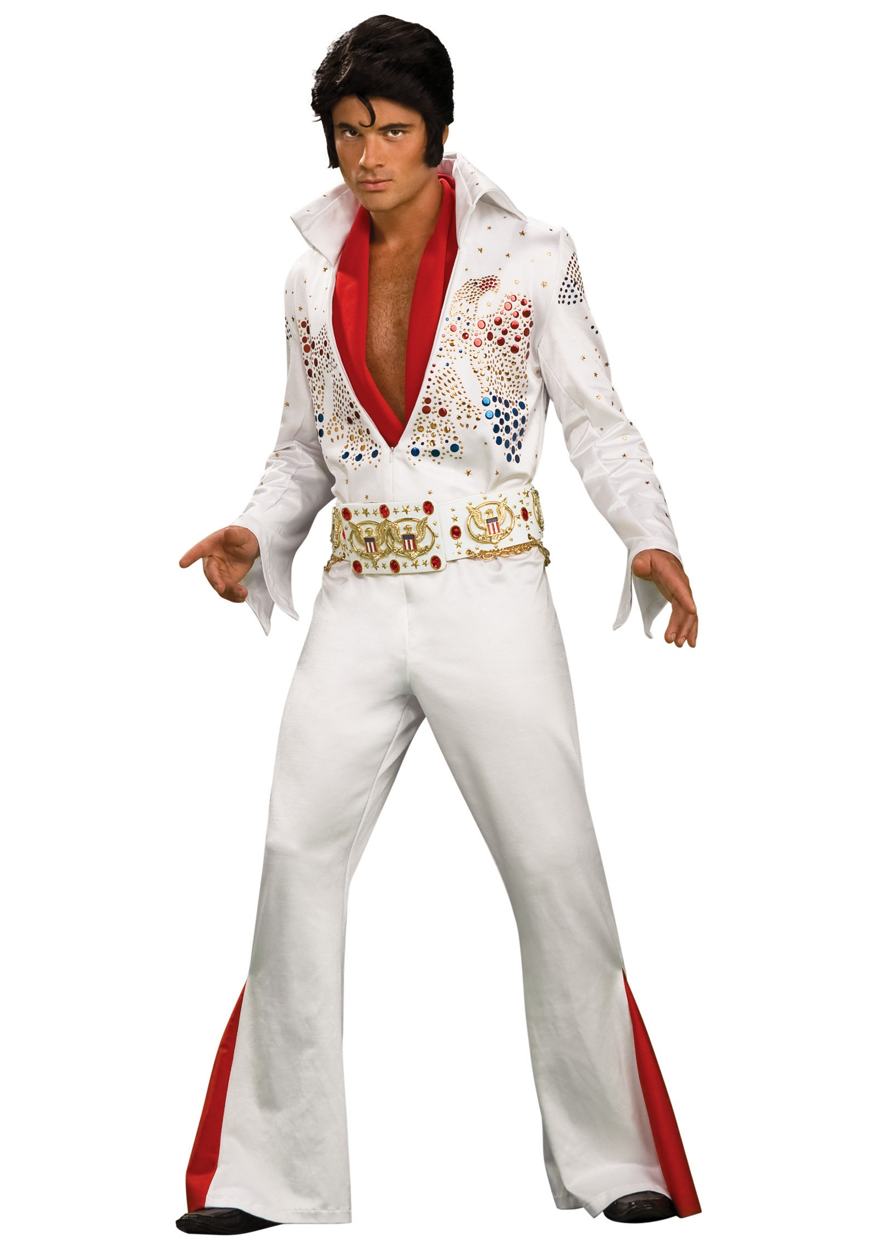 Grand Heritage Elvis Costume  sc 1 st  Halloween Costumes & Adult Deluxe Elvis Presley Costume