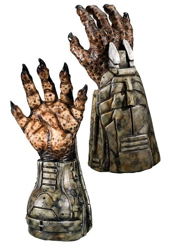 Deluxe Predator Hands By: Rubies Costume Co. Inc for the 2015 Costume season.
