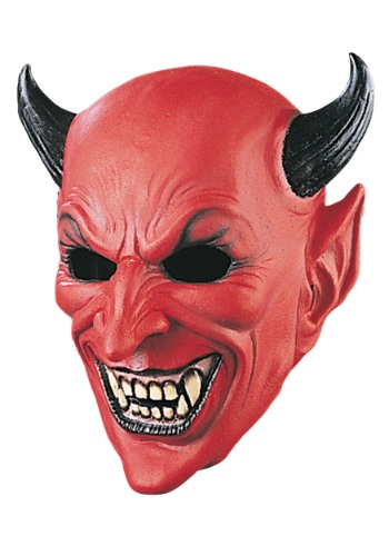 Click Here to buy Deluxe Devil Mask from HalloweenCostumes, USA Funds & Shipping