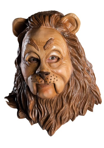 Click Here to buy Latex Cowardly Lion Mask from HalloweenCostumes, USA Funds & Shipping