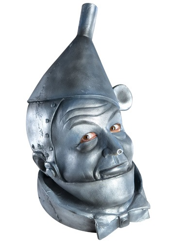 Latex Tin Man Mask By: Rubies Costume Co. Inc for the 2015 Costume season.
