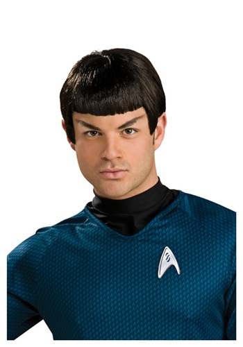 Click Here to buy Star Trek Spock Wig with Ears - Star Trek Halloween Costume Accessory from HalloweenCostumes, USA Funds & Shipping