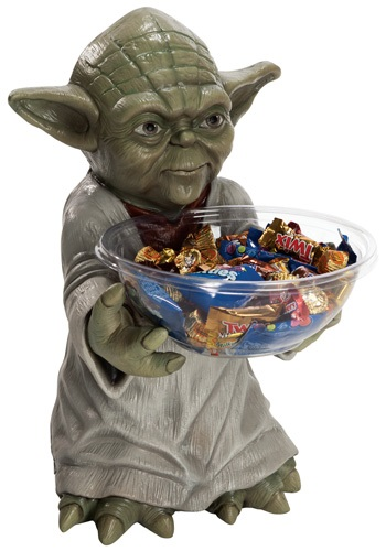 Yoda Candy Bowl Holder By: Rubies Costume Co. Inc for the 2015 Costume season.