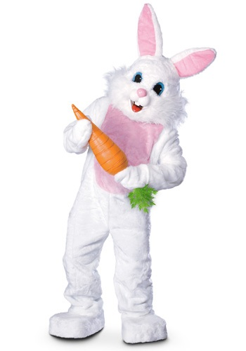 Mascot Easter Bunny Costume - Adult Bunny Costumes By: Rubies Costume Co. Inc for the 2015 Costume season.