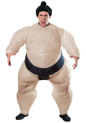 Mens Inflatable Sumo Costume By: Rubies Costume Co. Inc for the 2015 Costume season.
