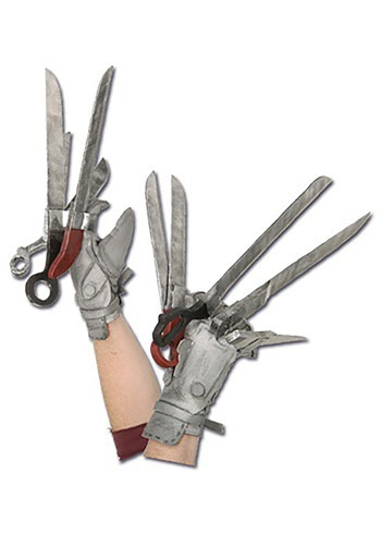 Deluxe Edward Scissorhands Gloves By: Rubies Costume Co. Inc for the 2015 Costume season.