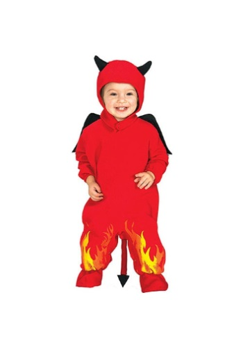 Click Here to buy Lil Devil Baby Costume from HalloweenCostumes, USA Funds & Shipping