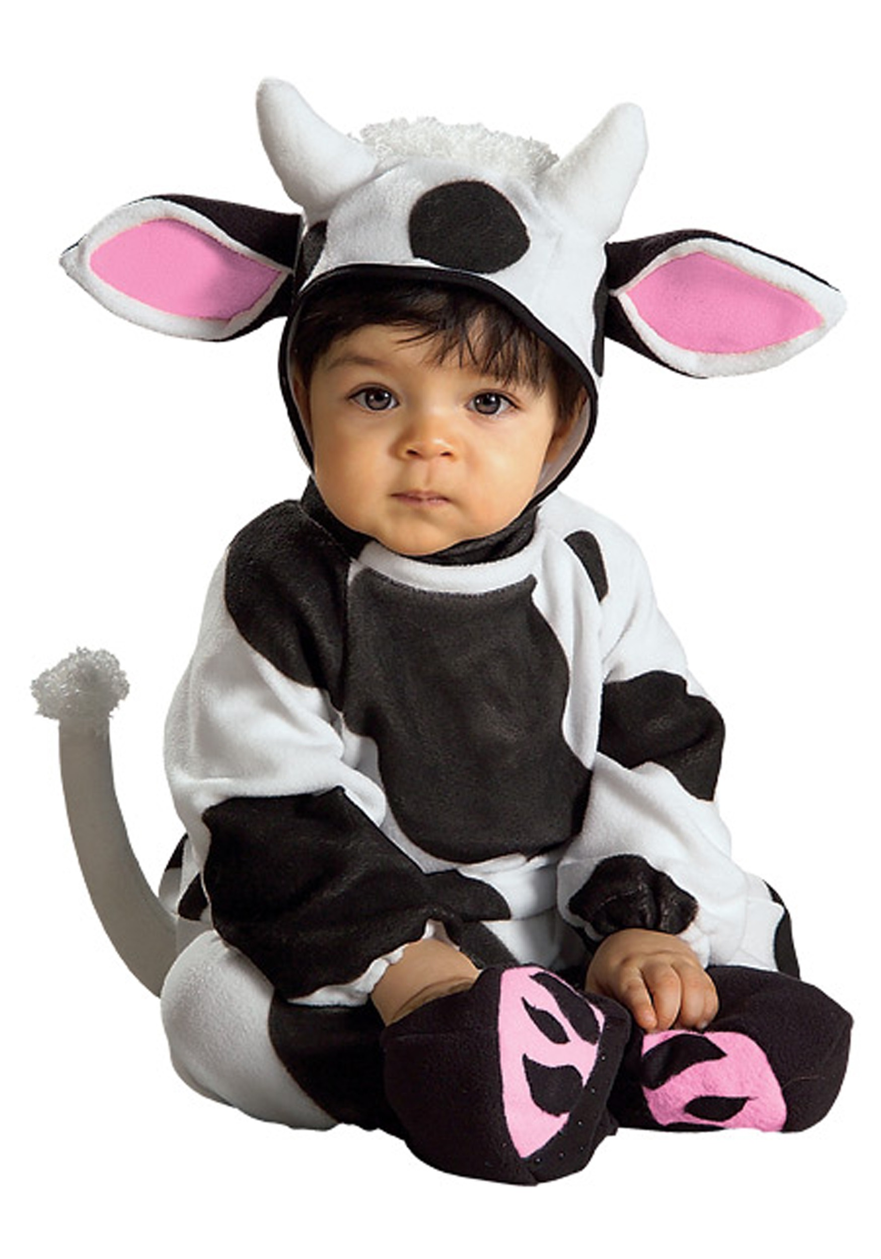 infant cow costume. Black Bedroom Furniture Sets. Home Design Ideas