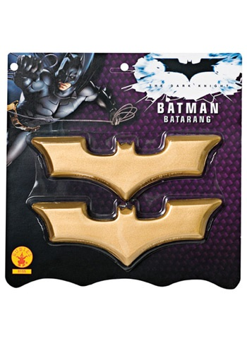 Batman Boomerangs - Batman Dark Knight Costume Accessories