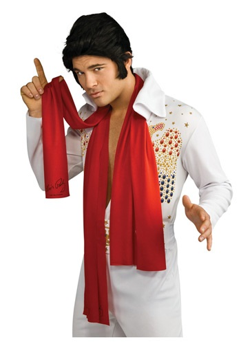 Click Here to buy Elvis Scarves from HalloweenCostumes, USA Funds & Shipping
