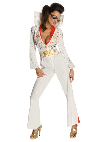 Sexy Elvis Jumpsuit Costume By: Rubies Costume Co. Inc for the 2015 Costume season.