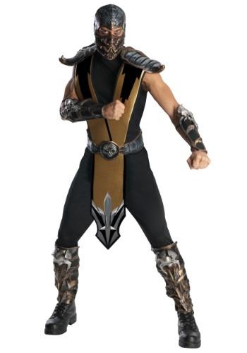 Click Here to buy Mortal Kombat Scorpion Costume from HalloweenCostumes, CDN Funds