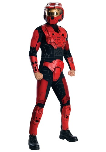 Click Here to buy Deluxe Halo Red Spartan Costume from HalloweenCostumes, CDN Funds