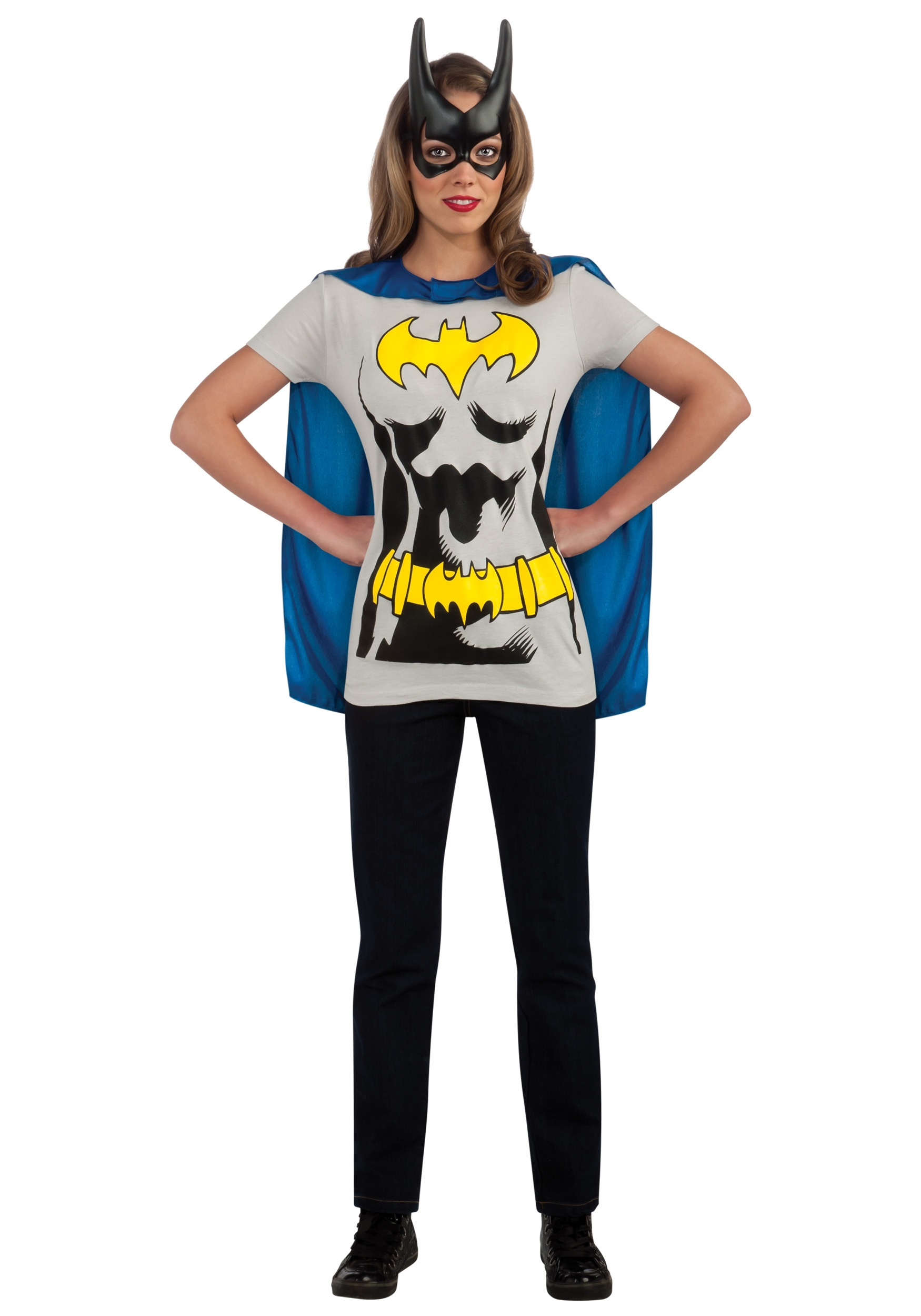 Batgirl t shirt costume for Costume t shirts online