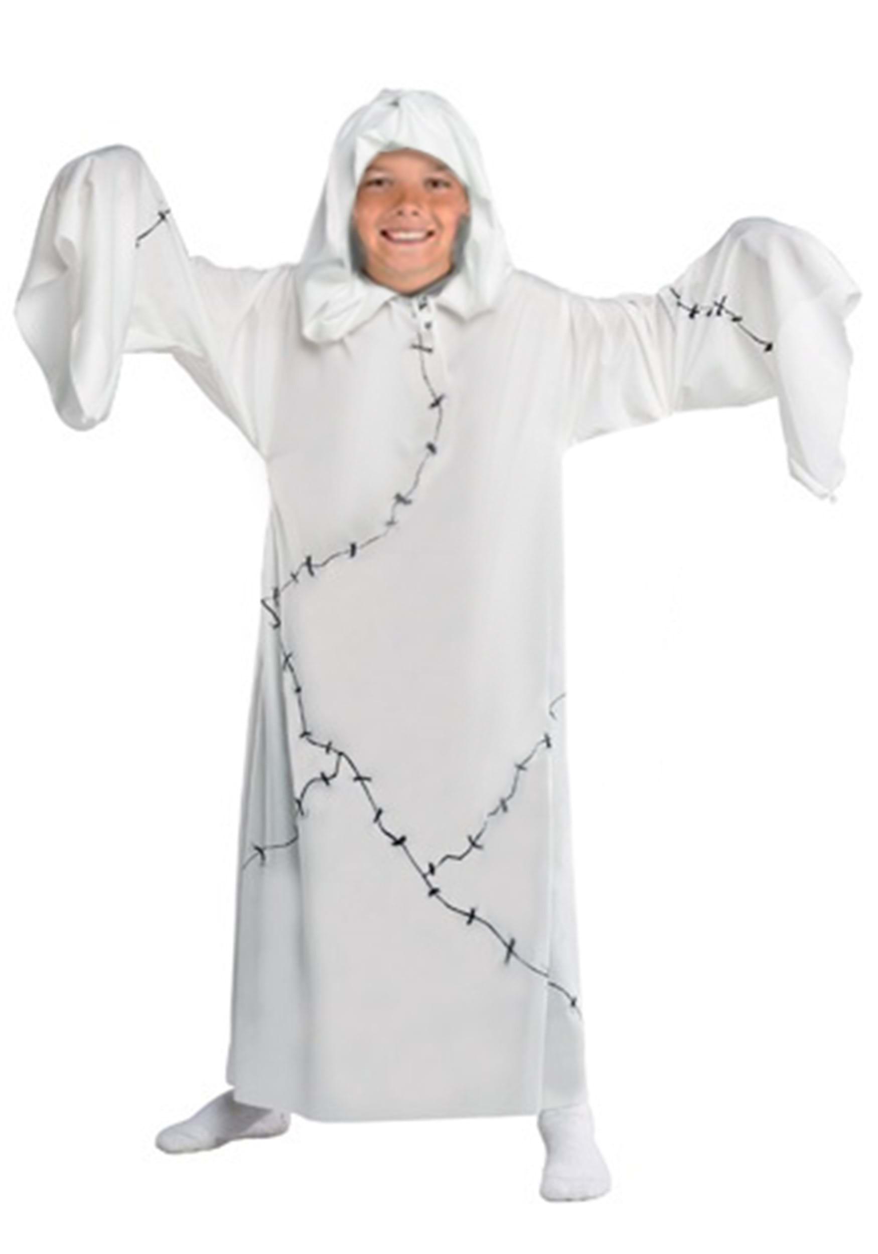 Kids ghost costume - Fabriquer un fantome halloween ...