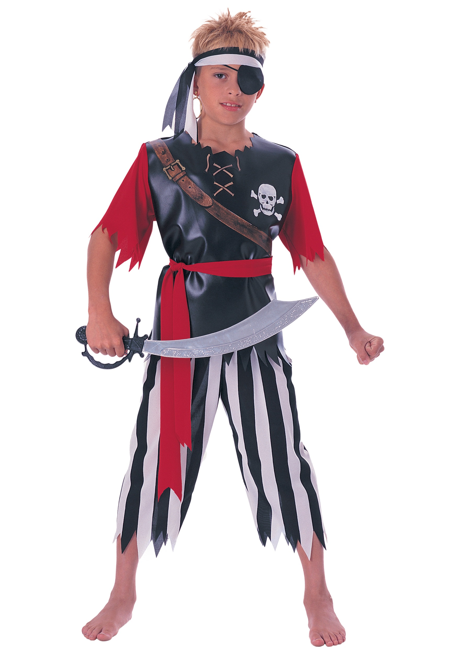 Child pirate king costume for Children s halloween costume ideas