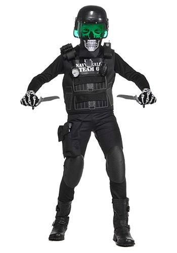 Zombie Team 6 Costume Kids Navy Seal