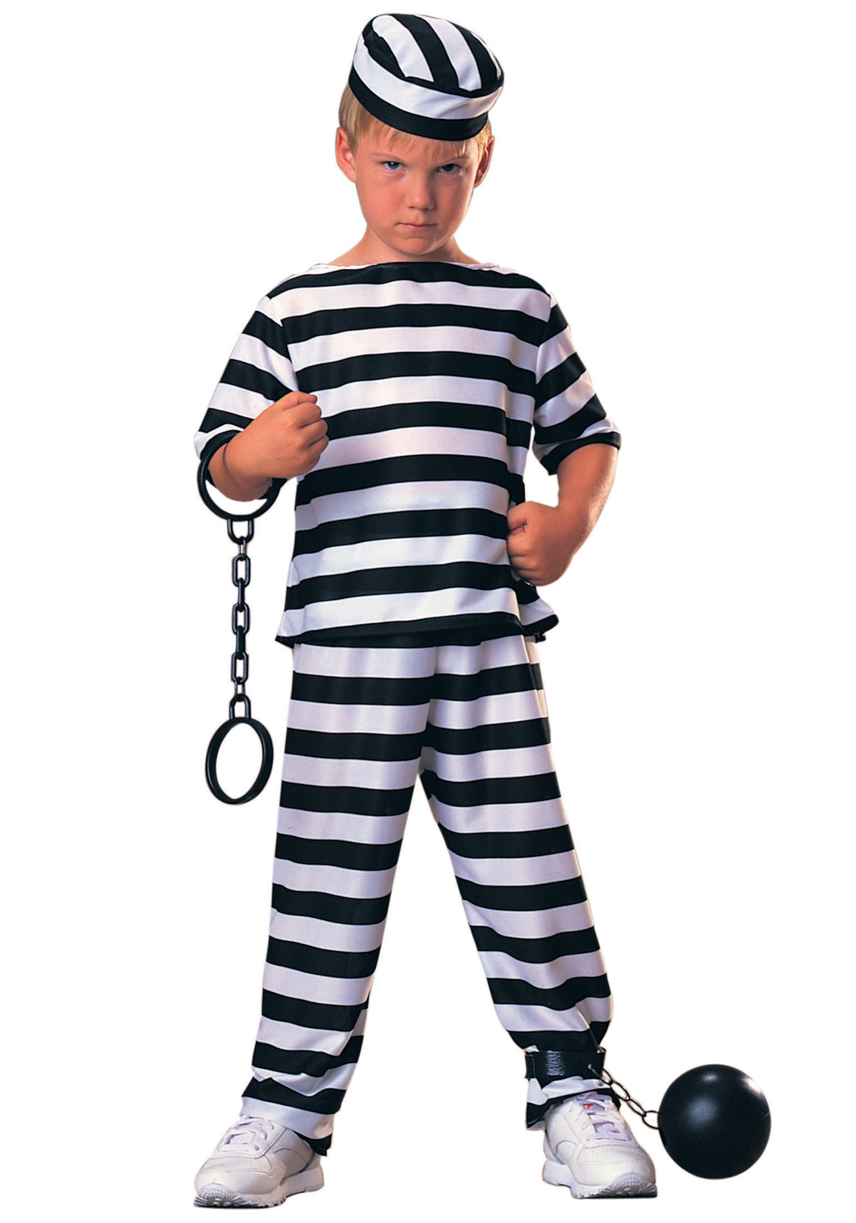 sc 1 st  Halloween Costumes & Kids Prisoner Costume
