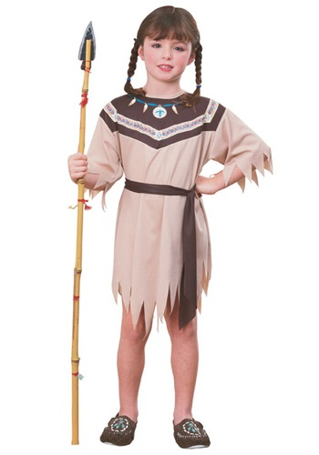 Indian Girl Native American Costume - Costumes Indian Kids Girls