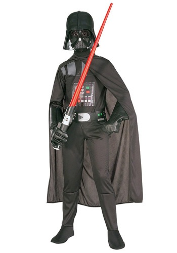 Click Here to buy Kids Darth Vader Costume - Kidsrens Star Wars Halloween Costumes from HalloweenCostumes, CDN Funds