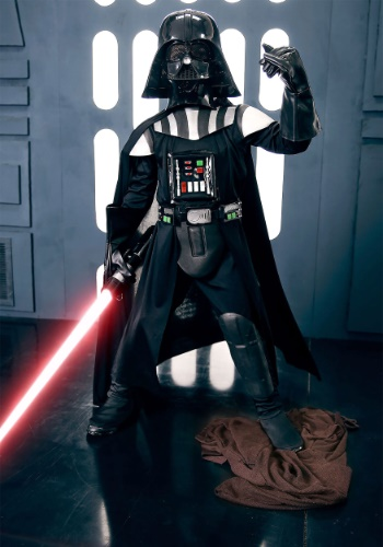 Child Deluxe Darth Vader Costume - Boys Darth Vader Costumes By: Rubies Costume Co. Inc for the 2015 Costume season.