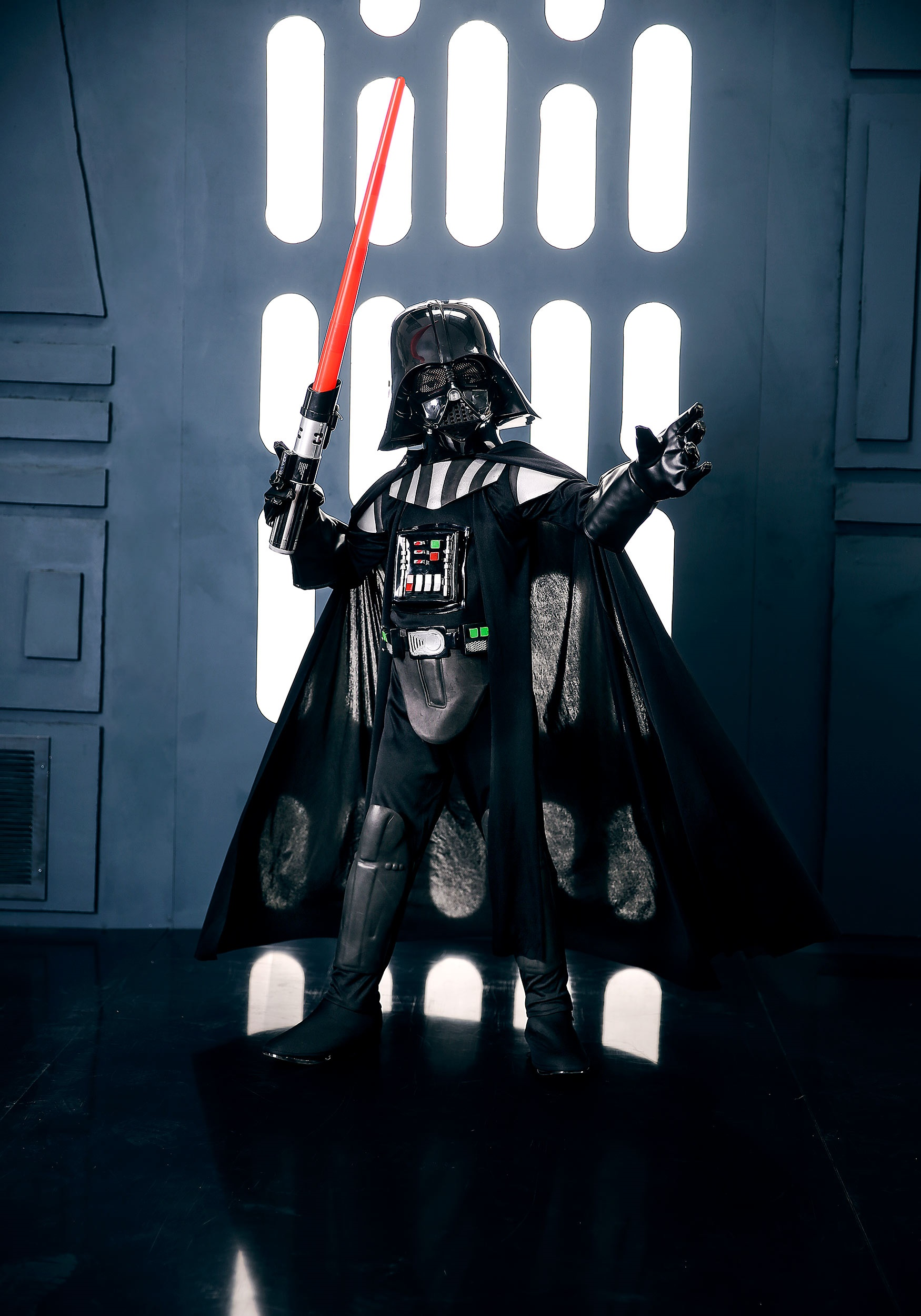 child deluxe darth vader costume boys darth vader costumes. Black Bedroom Furniture Sets. Home Design Ideas