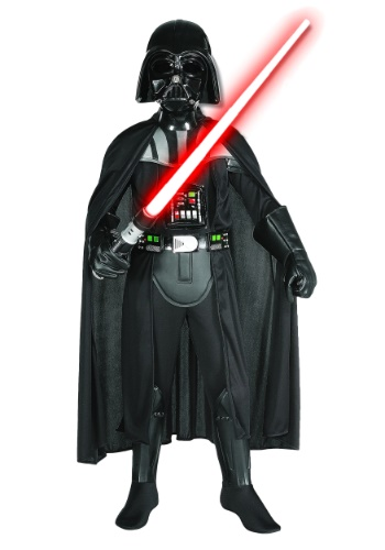 Click Here to buy Kids Deluxe Darth Vader Costume - Boys Darth Vader Costumes from HalloweenCostumes, USA Funds & Shipping