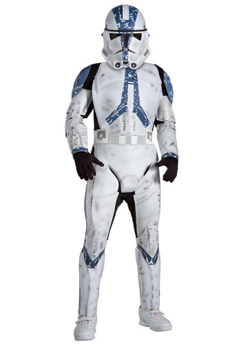 Deluxe Kids Clone Trooper EP3 Costume By: Rubies Costume Co. Inc for the 2015 Costume season.