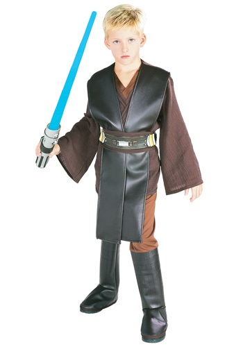 Click Here to buy Kids Deluxe Anakin Skywalker Costume from HalloweenCostumes, USA Funds & Shipping