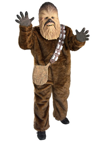 Child Deluxe Chewbacca Costume - Kids Star Wars Halloween Costumes By: Rubies Costume Co. Inc for the 2015 Costume season.
