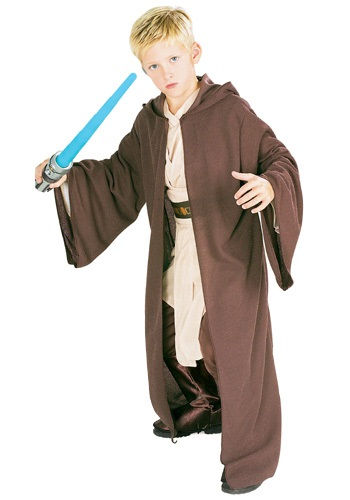 Kids Deluxe Jedi Robe   Star Wars Child Jedi Robe By: Rubies Costume Co. Inc for the 2015 Costume season.