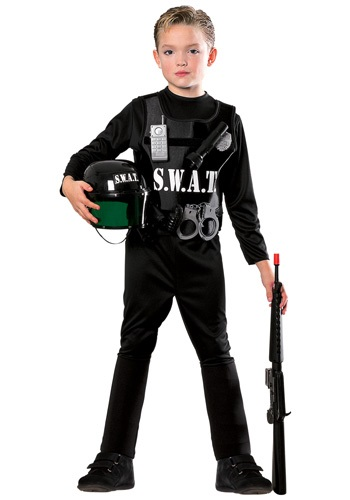 SWAT Officer Kids Costume