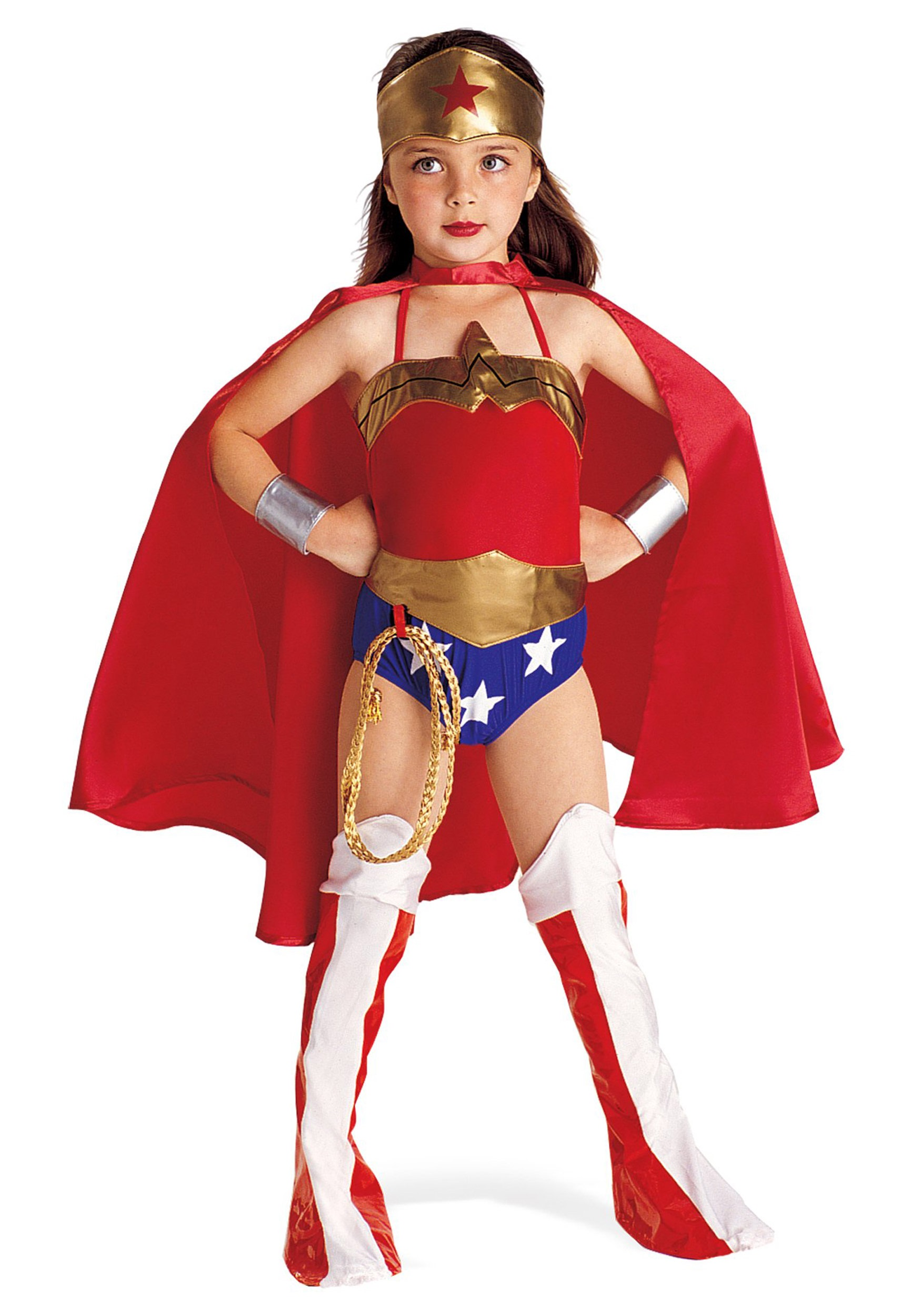 Kids Halloween Costumes Pictures Child Wonder Woman Costume