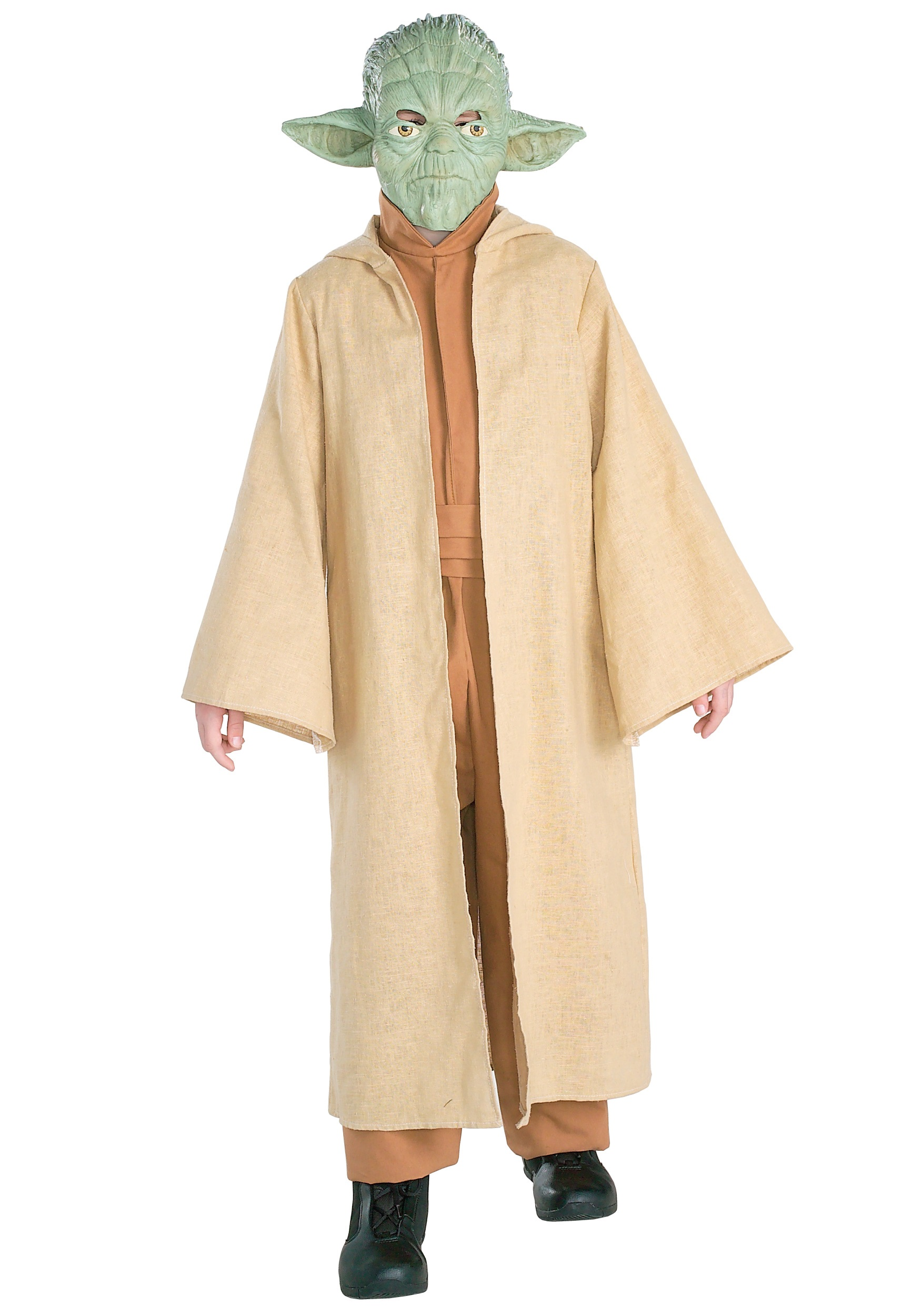 Child Deluxe Jedi Knight Costume Deluxe Child Yoda Costume Buy