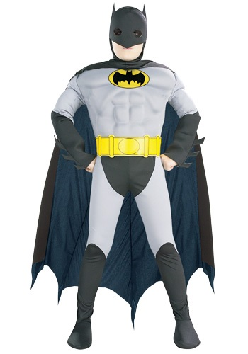 Click Here to buy Kids Batman Costume from HalloweenCostumes, USA Funds & Shipping