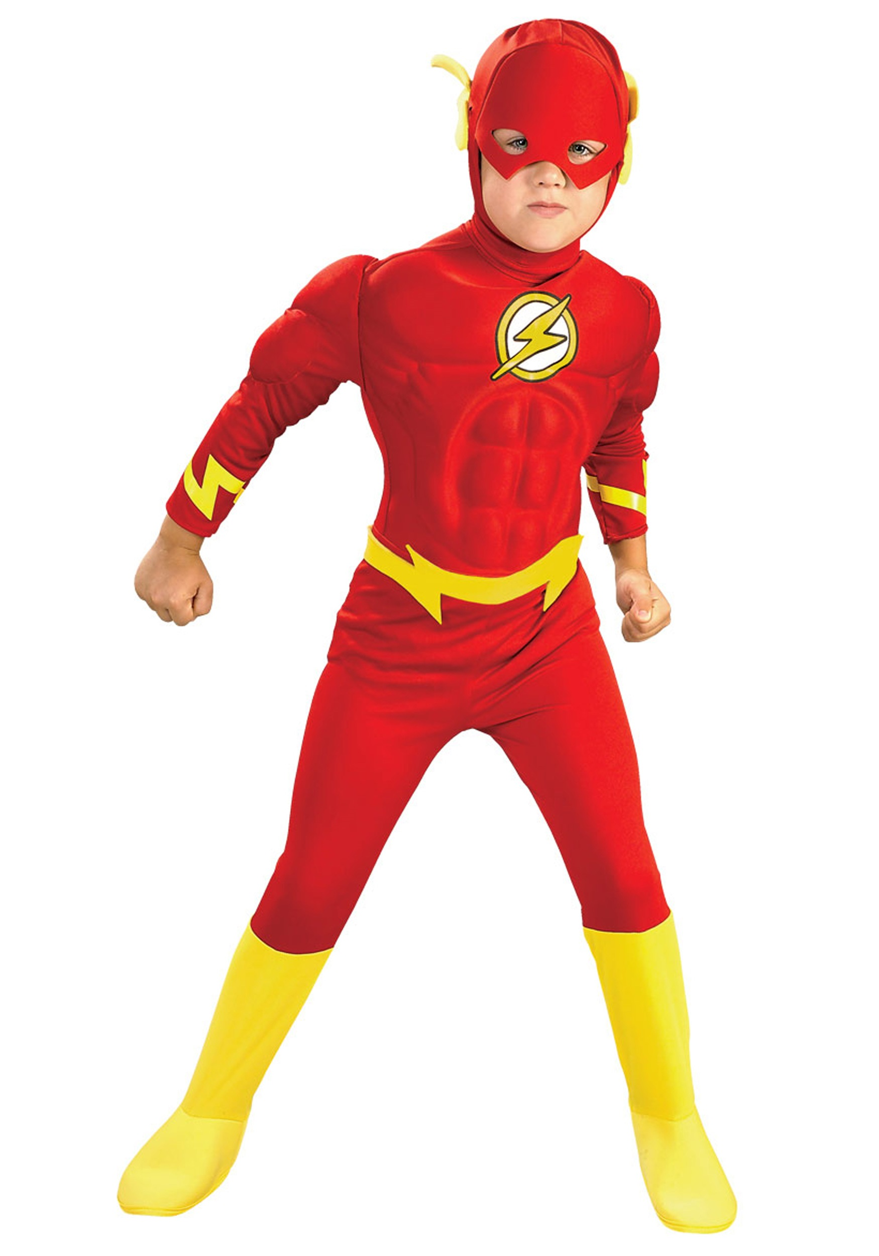 Kids flash costume deluxe kids flash costume buycottarizona Image collections