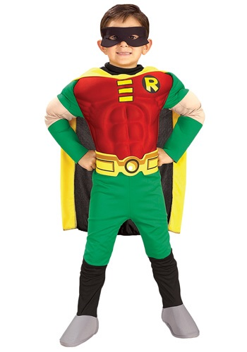 Kids Deluxe Robin Costume By: Rubies Costume Co. Inc for the 2015 Costume season.