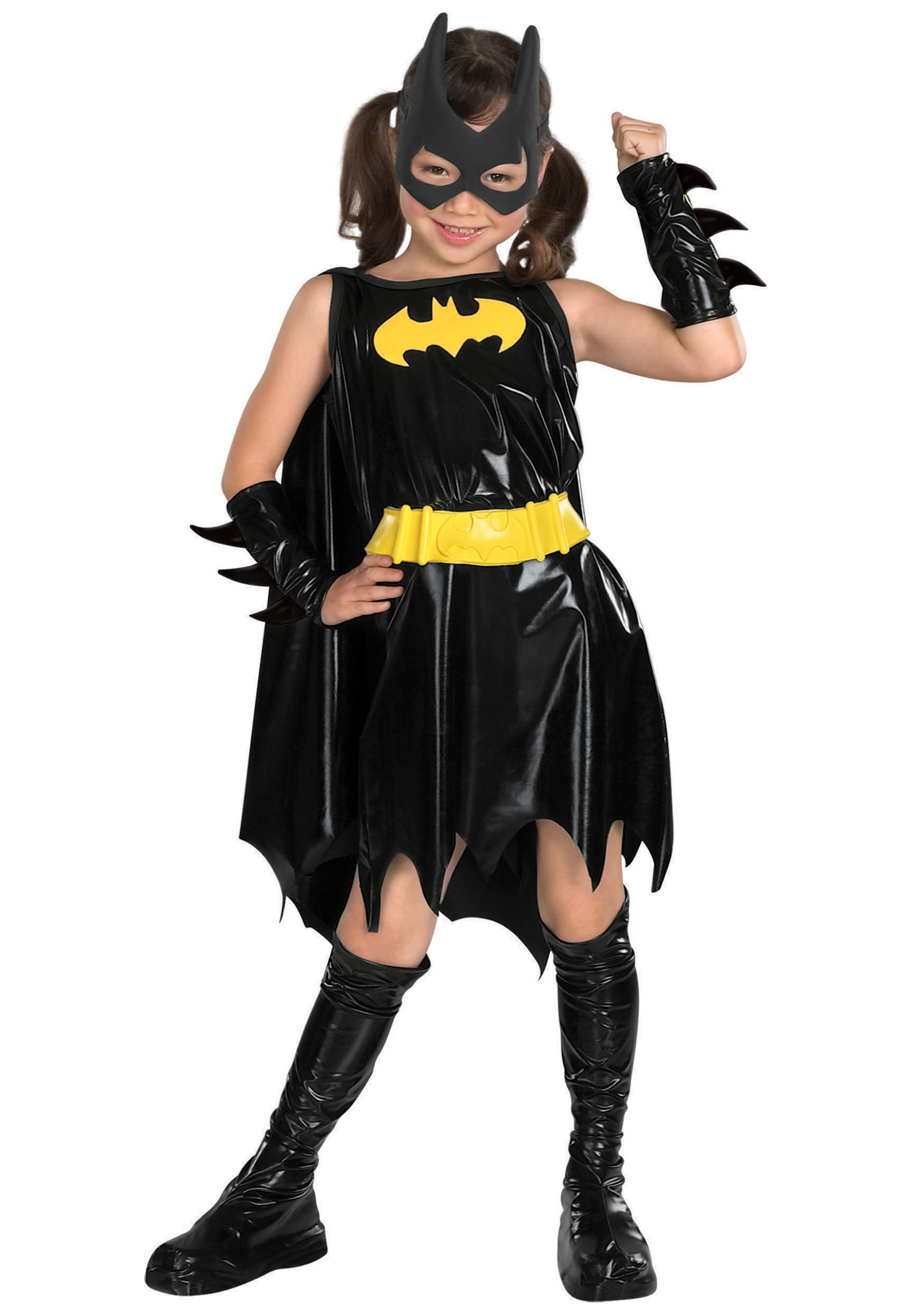 Batgirl Eye Mask Makeup Child batgirl costume