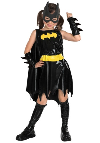 Click Here to buy Kids Batgirl Costume from HalloweenCostumes, USA Funds & Shipping