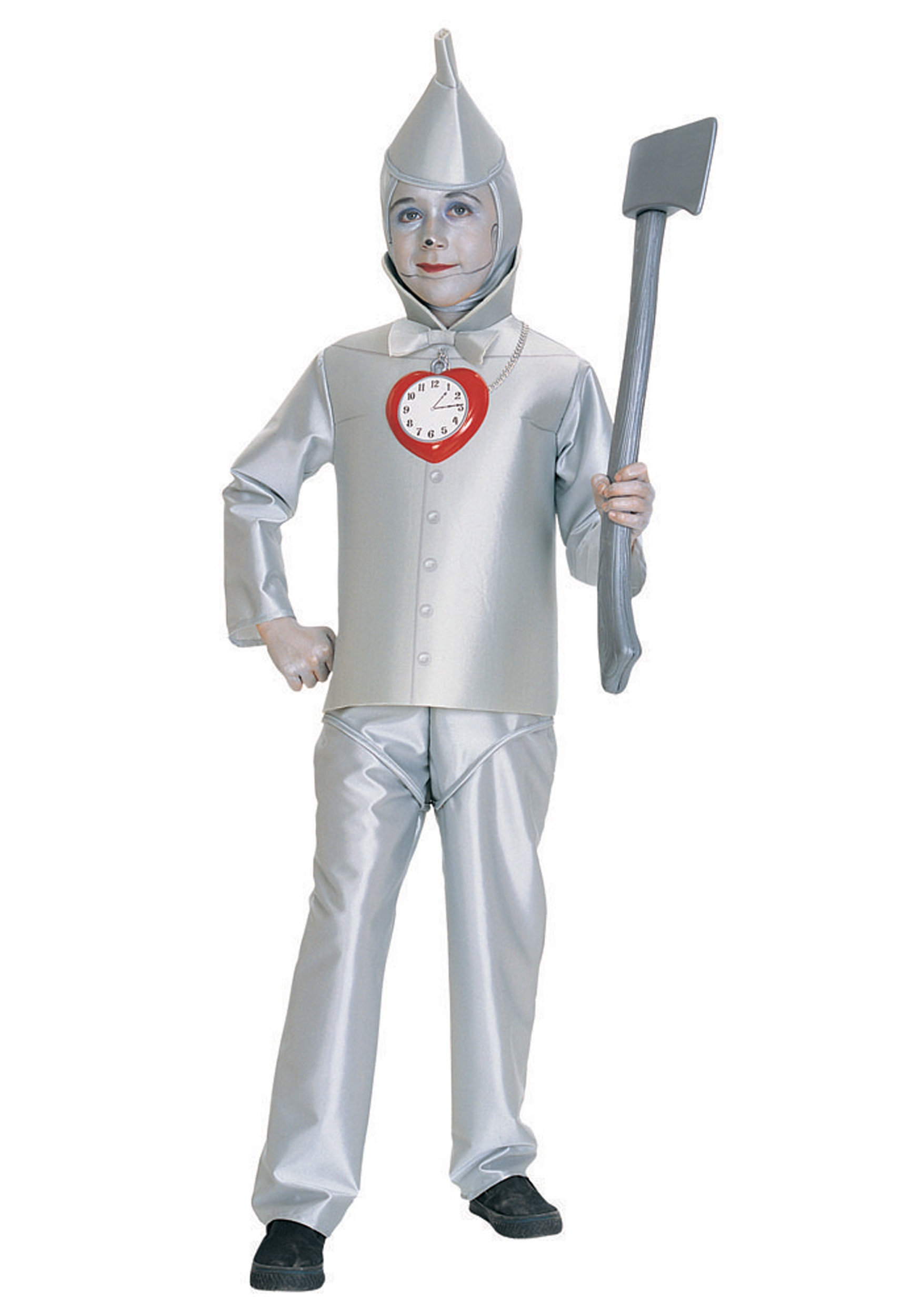 Kids Halloween Costumes Boys Child Tin Man Costume
