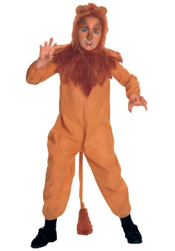 Child Cowardly Lion Costume - Kids Cowardly Lion Halloween Costumes