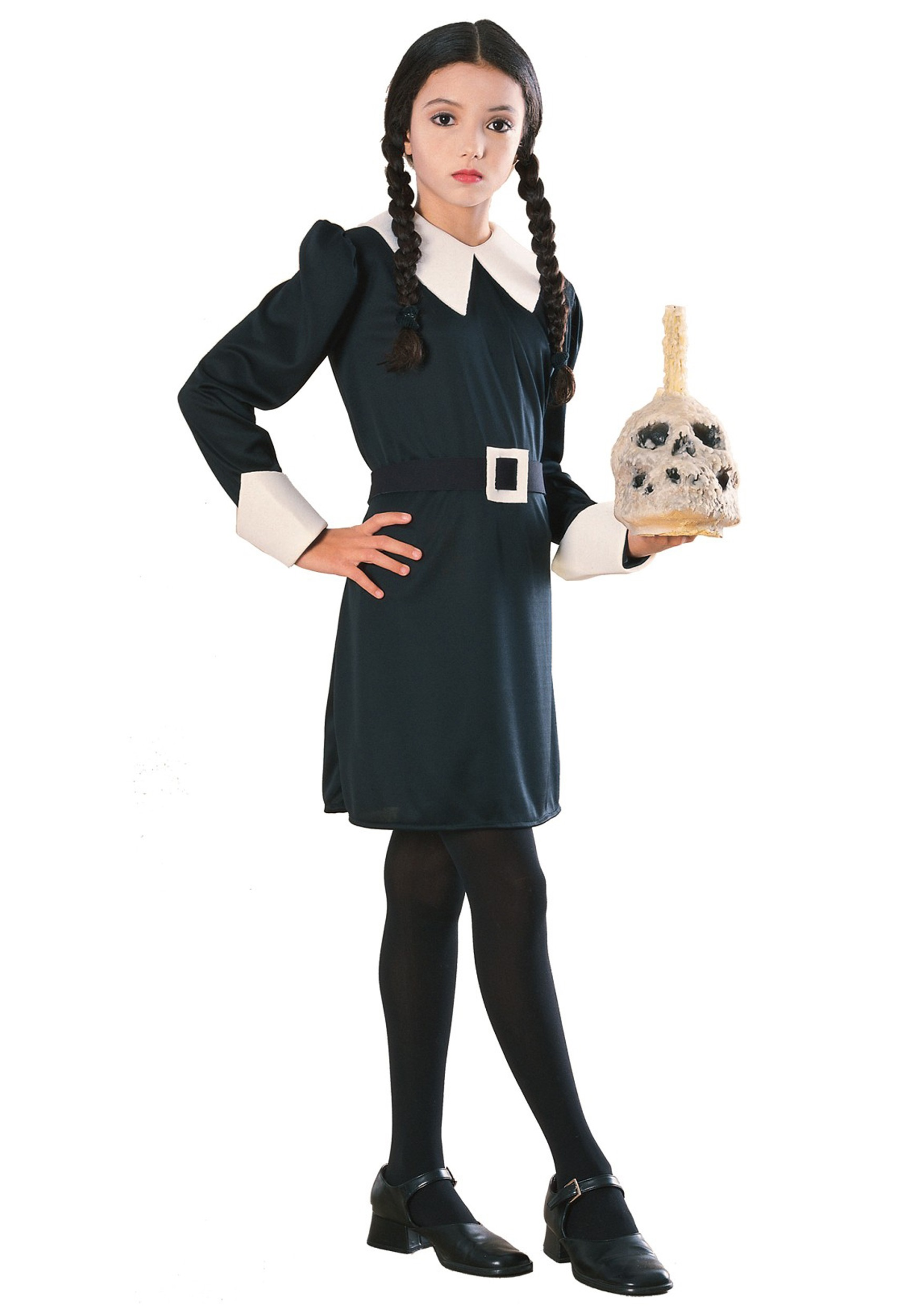 Wednesday Addams Kids Costume