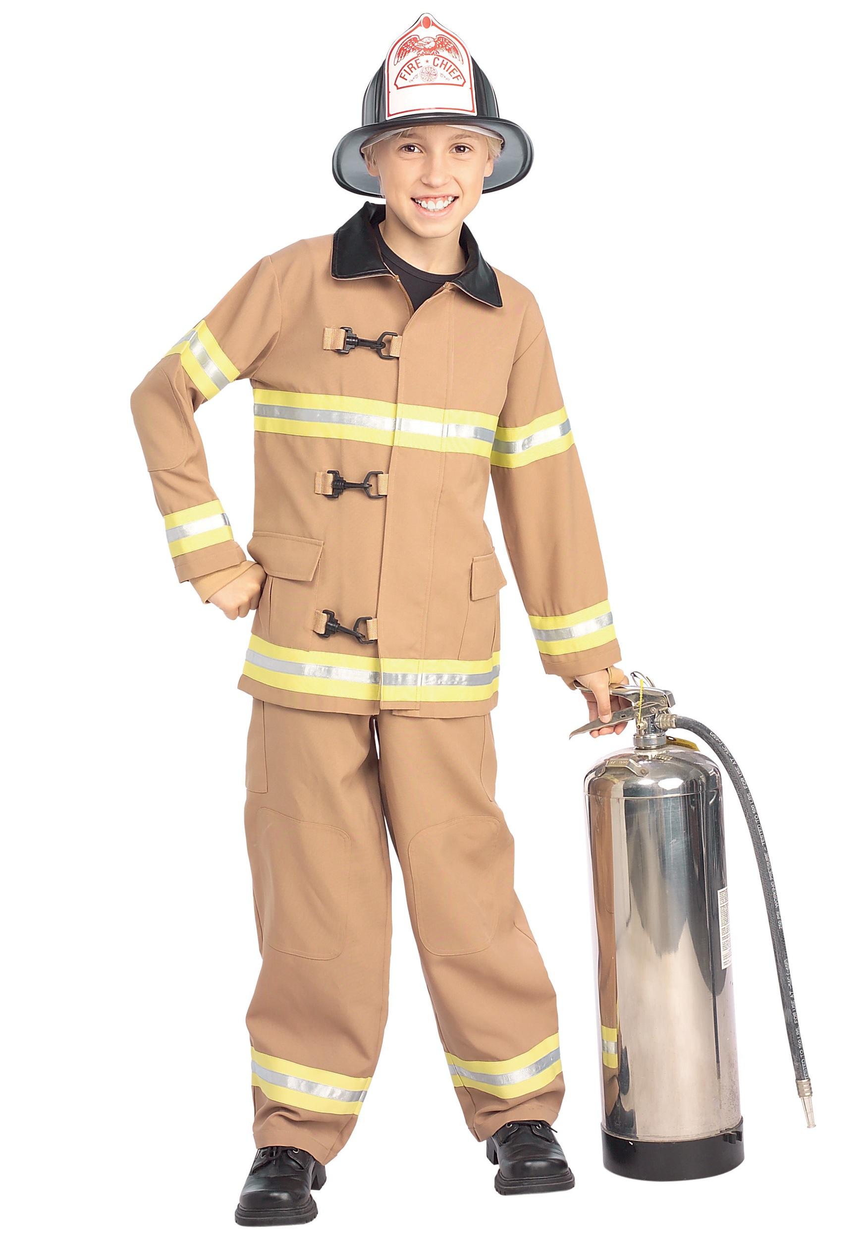 647bcca93eb Kids Fireman Costume