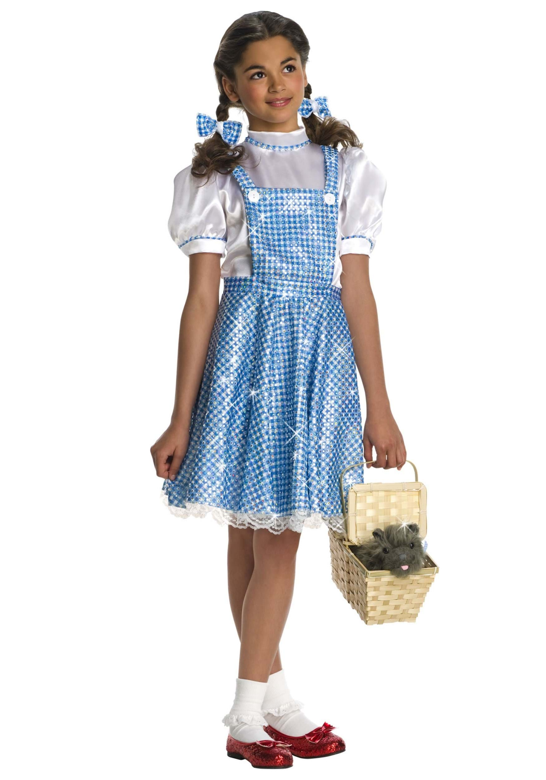 sequin dorothy costume for girls