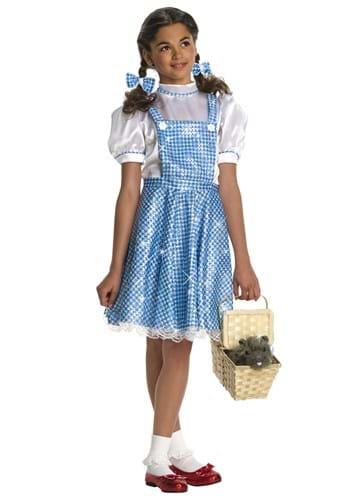 Click Here to buy Sequin Dorothy Girls Costume from HalloweenCostumes, CDN Funds