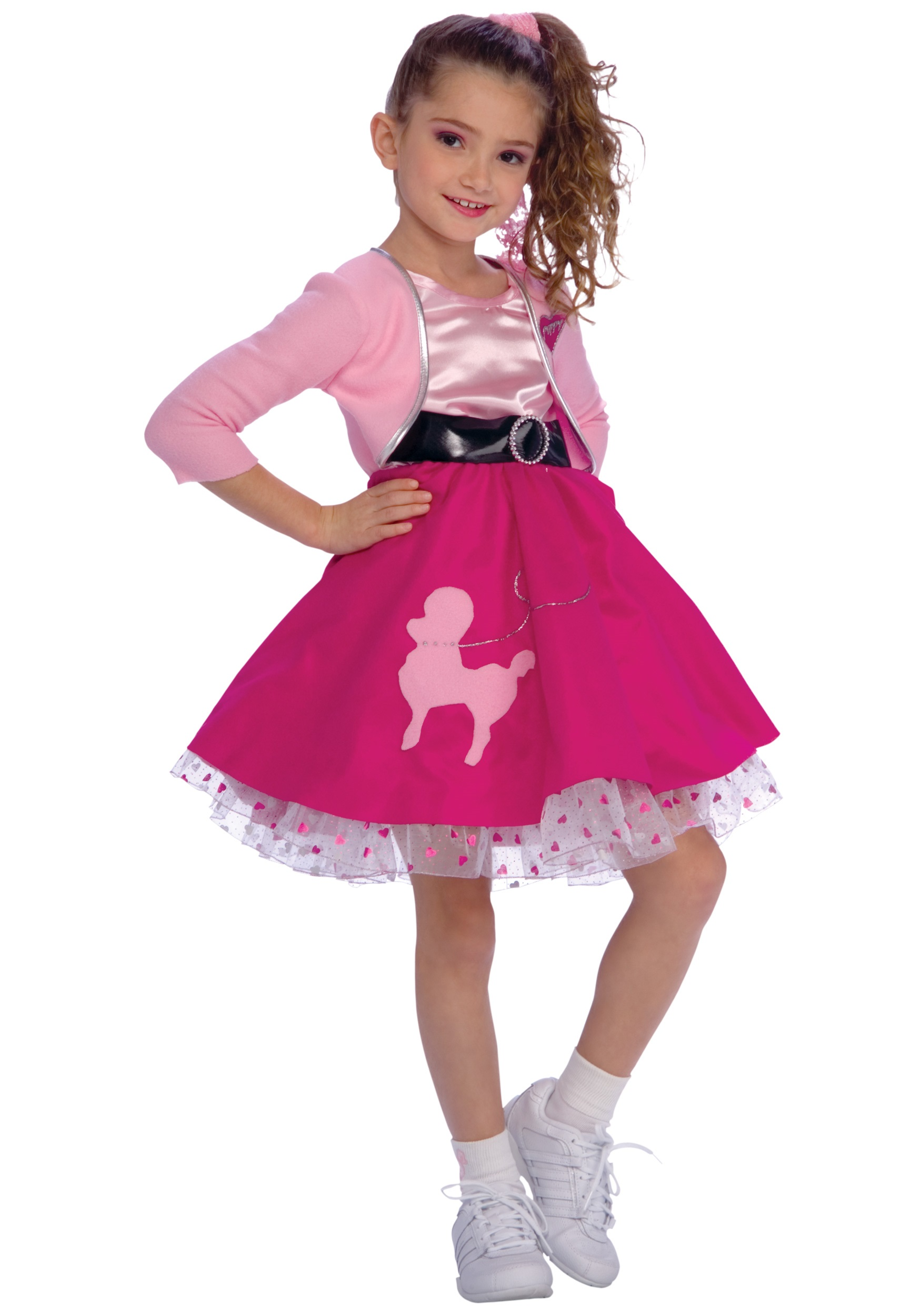 Girls Red 50s Sweetheart Costume $28 . 99