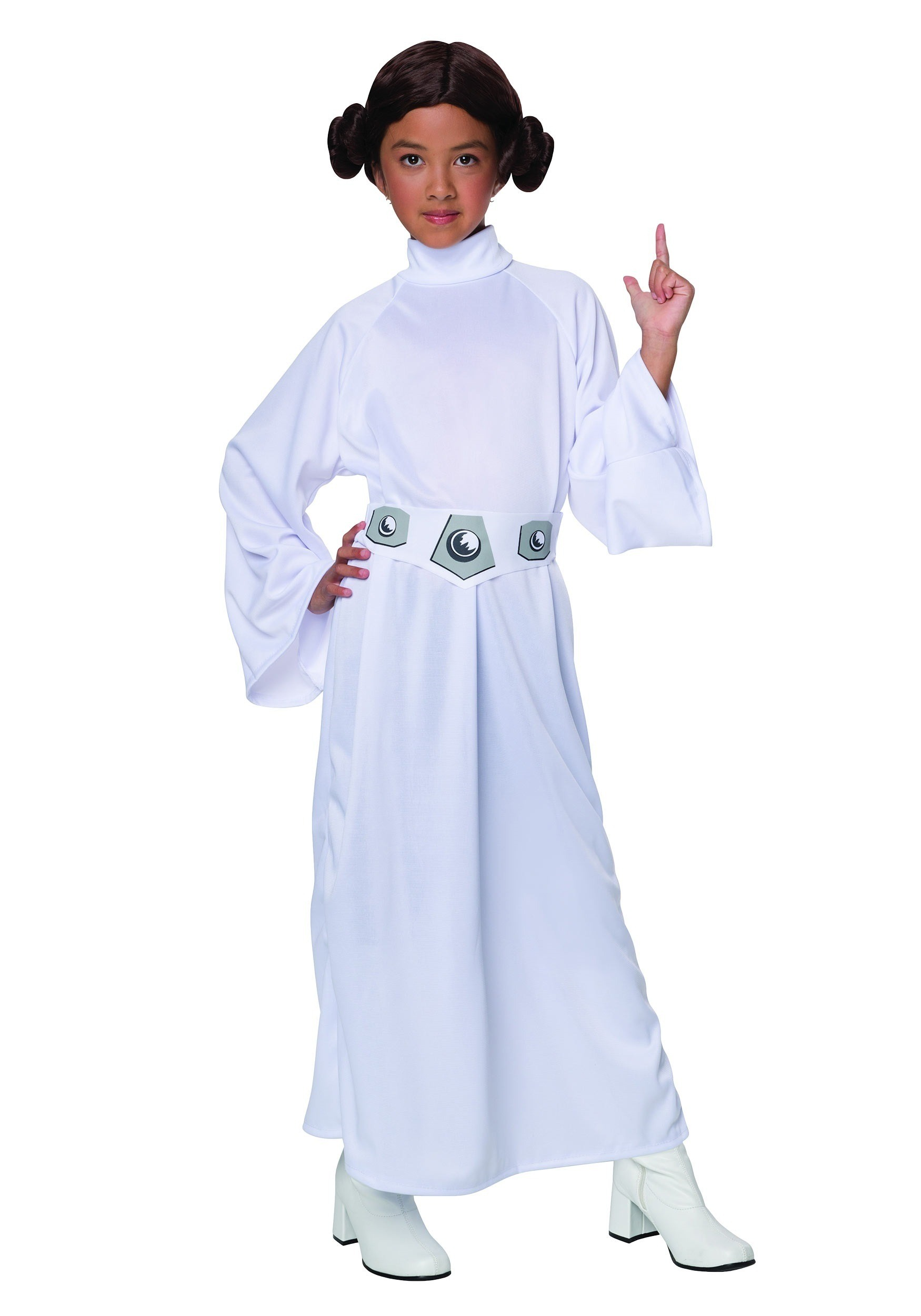 Child Princess Leia Costume  sc 1 st  Halloween Costumes & Kids Princess Leia Costume