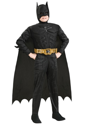 Click Here to buy Kids Deluxe Dark Knight Batman Costume from HalloweenCostumes, USA Funds & Shipping