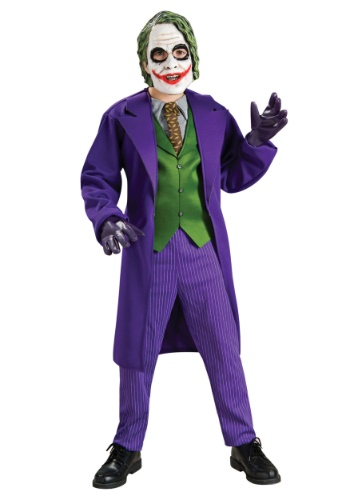 Click Here to buy Deluxe Kids Joker Costume from HalloweenCostumes, CDN Funds