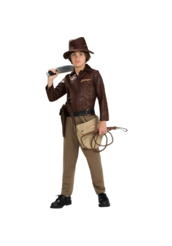 Click Here to buy Deluxe Kids Indiana Jones Costume from HalloweenCostumes, CDN Funds